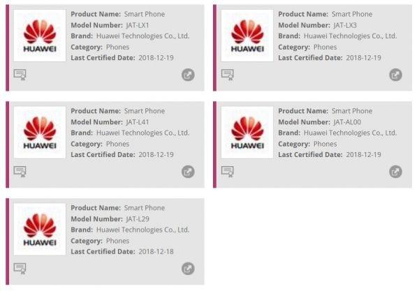 Honor 8A Pro Photos Leaked Via FCC Certification - MobyGeek com