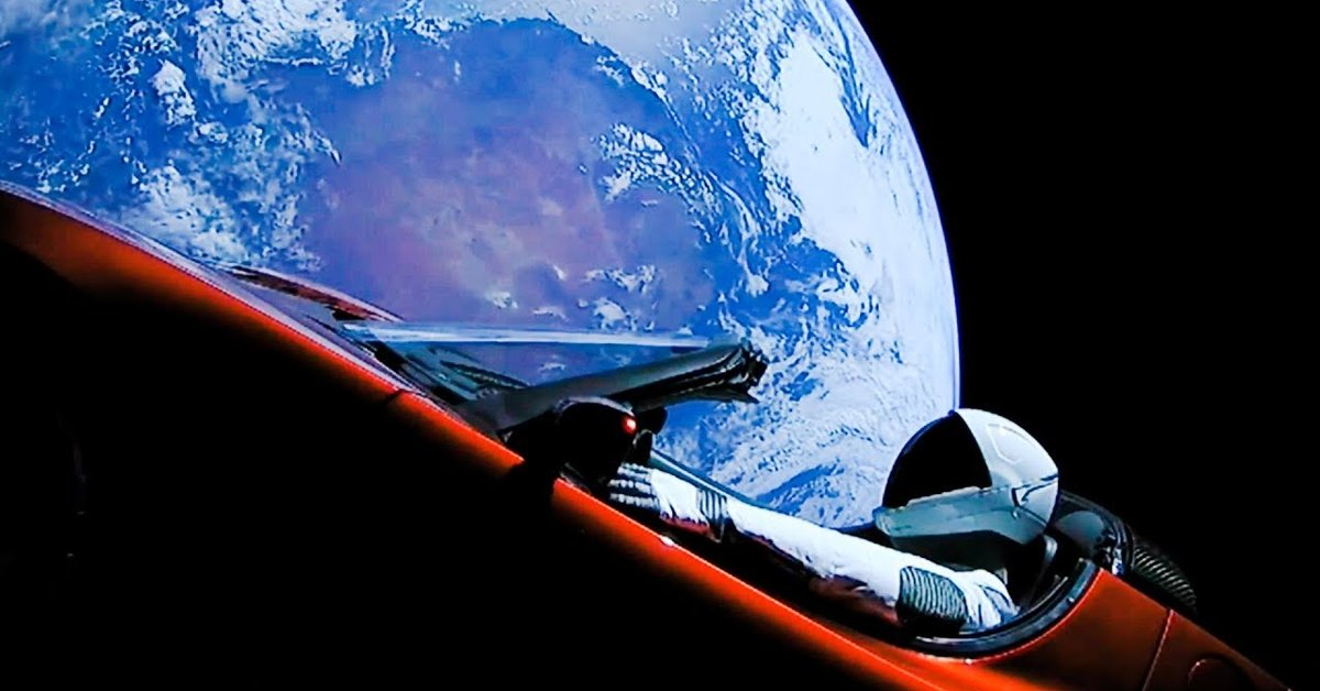 Elon Musk's Tesla Roadster Has Made A Full Year In Space ...