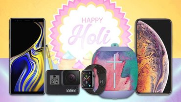The List Of Waterproof Gadgets You Should Consider In Holi 2019