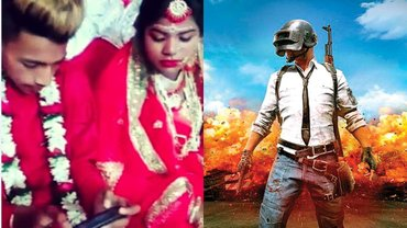 Indian Groom Is Very Well Engrossed In Playing PUBG At His Own Wedding