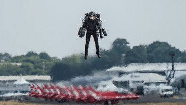 Watch A British Man Flying With An Iron Man-Style Suit In Real Life