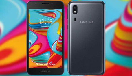 Samsung Galaxy A2 Core With 5-inch qHD Display & Android 9 (Go