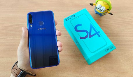Infinix S4 With Triple Cameras & 32MP Selfie Camera Launched