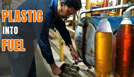 Hyderabad-Professor Sells Made-From-Plastic Petrol For Rs 40