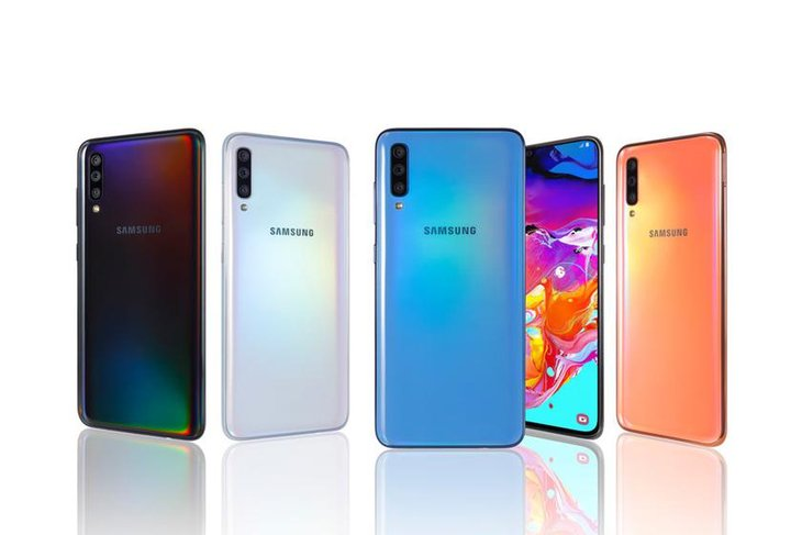 Samsung To Launch Three New Galaxy A Phones In India ...