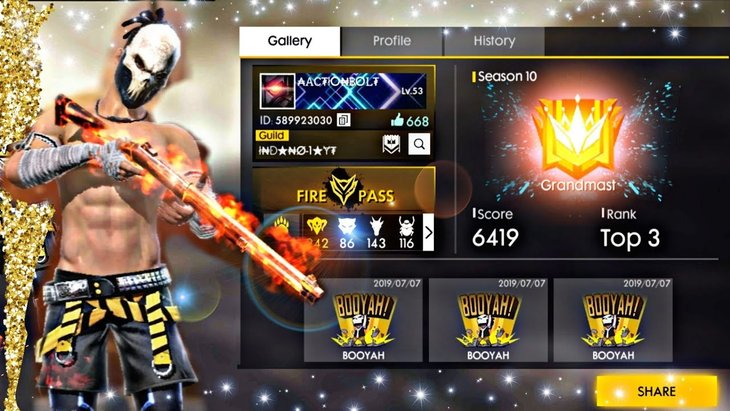 Top 10 Free Fire Player In India 2020 Top Names Everyone Should Know Mobygeek Com