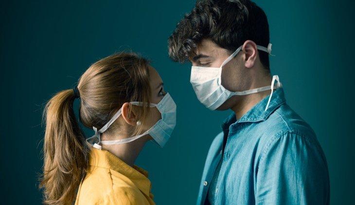 Couple Face Masks Sex