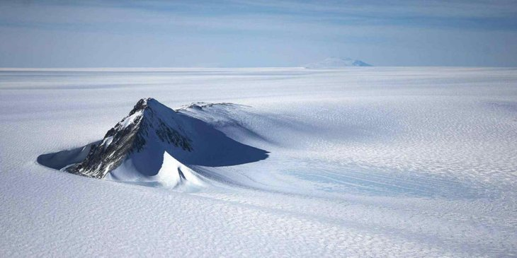 The South Pole was thought to be immune from warm air