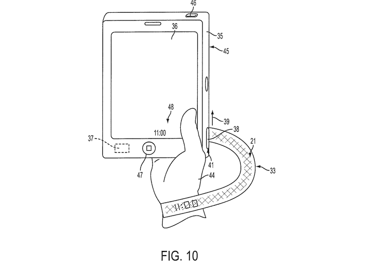 Apple patent fabric wearables