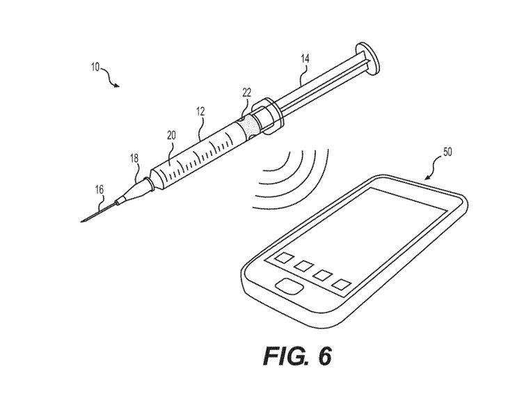Alphabet patent smart syringes