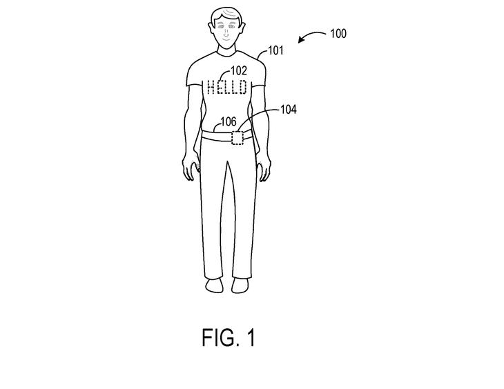 Microsoft patent smart shirt