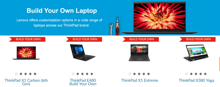 Lenovo Now Lets Users Customize ThinkPad Laptops In India