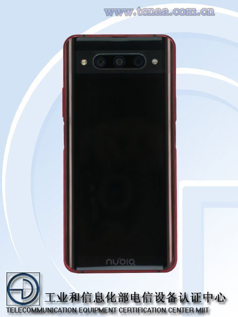 Nubia Z20 Sports Curved Primary Display And Dual F