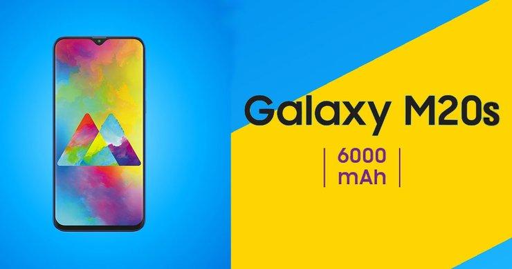 Samsung Galaxy M20s Co Pin Khung Face