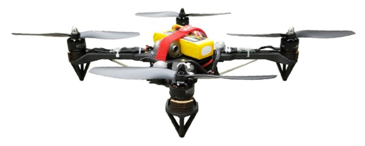 Passively-Morphing-Quadcopter-drone
